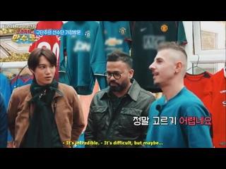 190705 KAI на тв шоу Eulachacha Man Soo Ro EP3