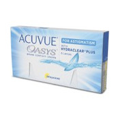 Контактные линзы ACUVUE OASYS for ASTIGMATISM With Hydraclear Plus упаковка -6 линз