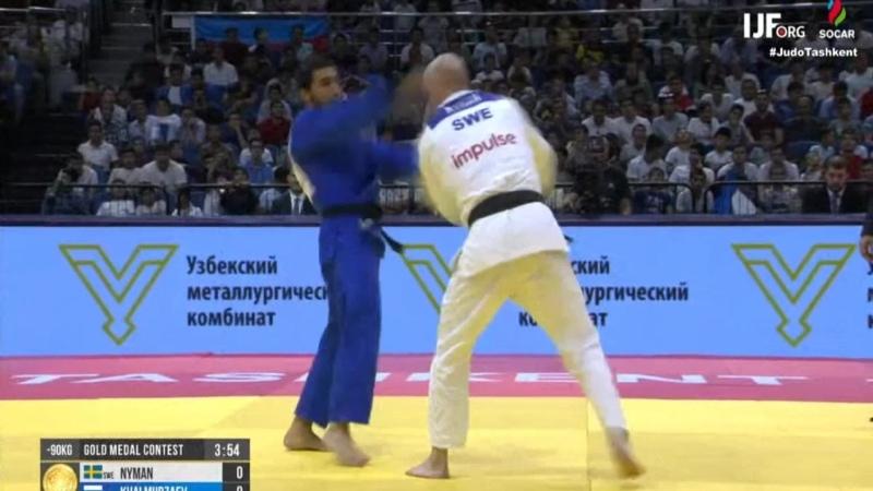 Grand Prix Tashkent 2019 KHALMURZAEV Khusen Russia NYMAN Marcus Sweden