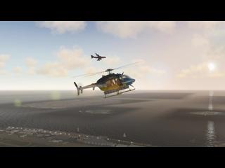 Запуск и взлет вертолета Bell 407 в Мале Мальдивы (VRMM) | X-Plane
