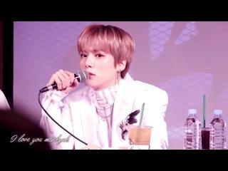 [VK][181111] MONSTA X fancam (Minhyuk focus) @ Gangnam Fansign