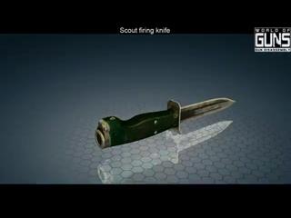 НРС-2. Нож разведчика стреляющий. Разборка.