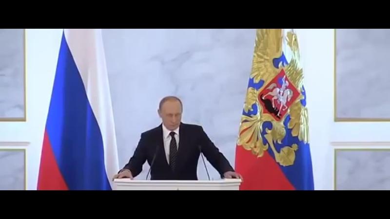 Путин Аллах их наказал