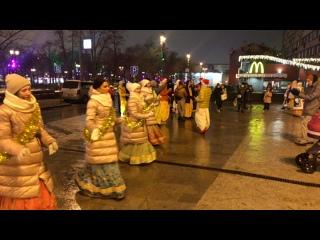 🎄С новым счастьем 🥳 Харинама на «Пушкинской»