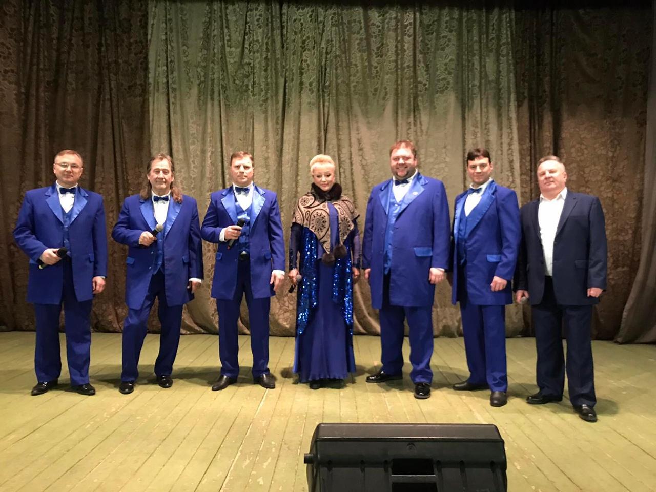 В Петровском районе продолжается серия выездных концертов с участием исполнителей районного Дома культуры