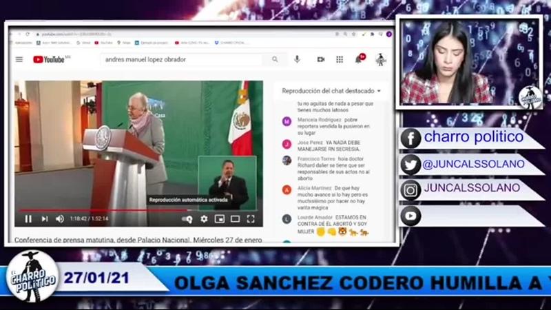 ¡PASADITA DE ROSCA OLGA SÁNCHEZ CORDERO_ PIDE QUE LA LLAMEN PRESIDENTA EN LA MAÑANERA(480P).mp4