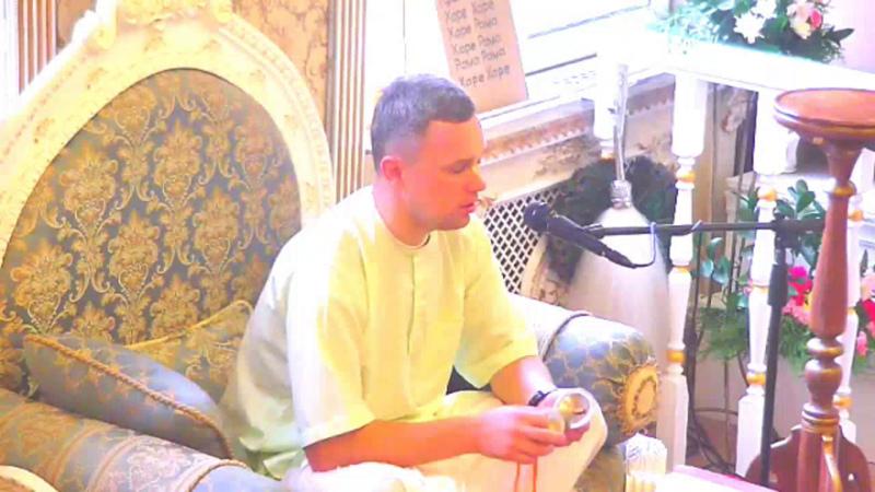 Ганга Хари дас лекция по Шримад Бхагаватам, 1.6.21 (04.09.2020, Омск)