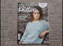 Обзор нового майского выпуска журнала Knitter на русском языке