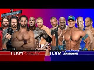 Команда RAW против Команды SmackDown