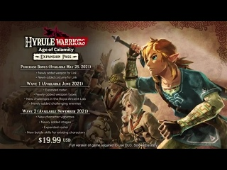 Вышел expansion pass для Hyrule Warriors: Age of Calamity
