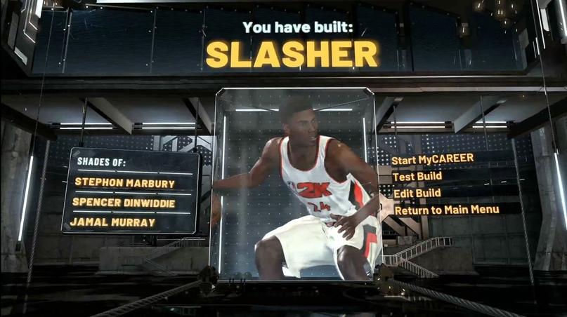 Создание персонажа : Slasher, изображение №9