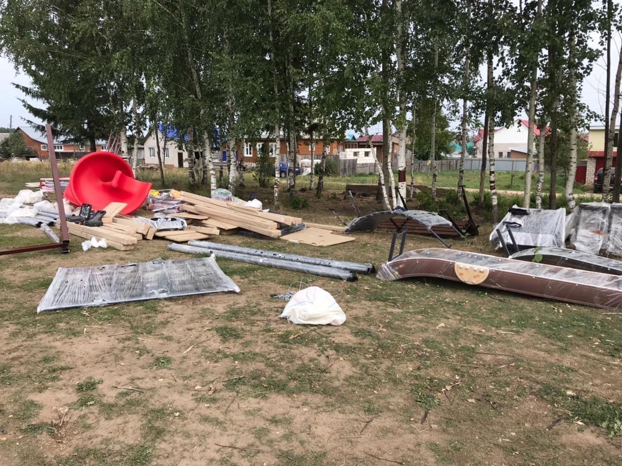 На Цыганском посёлке появится новая детская площадка