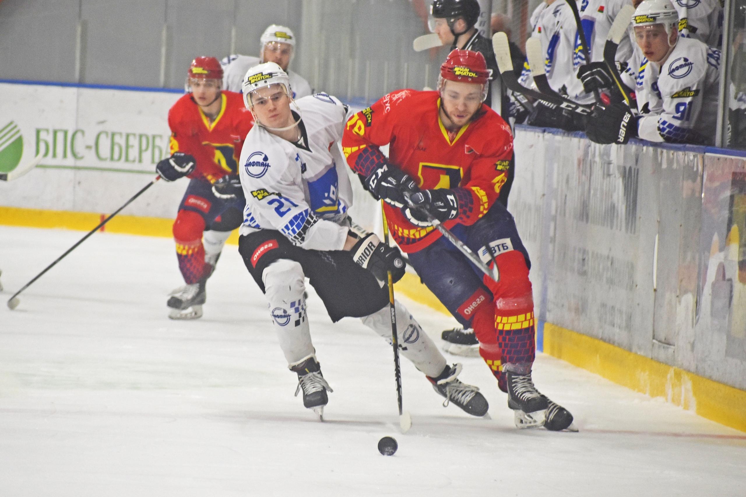 Хоккейный клуб «Лида» уступил новополоцкому «Химику».