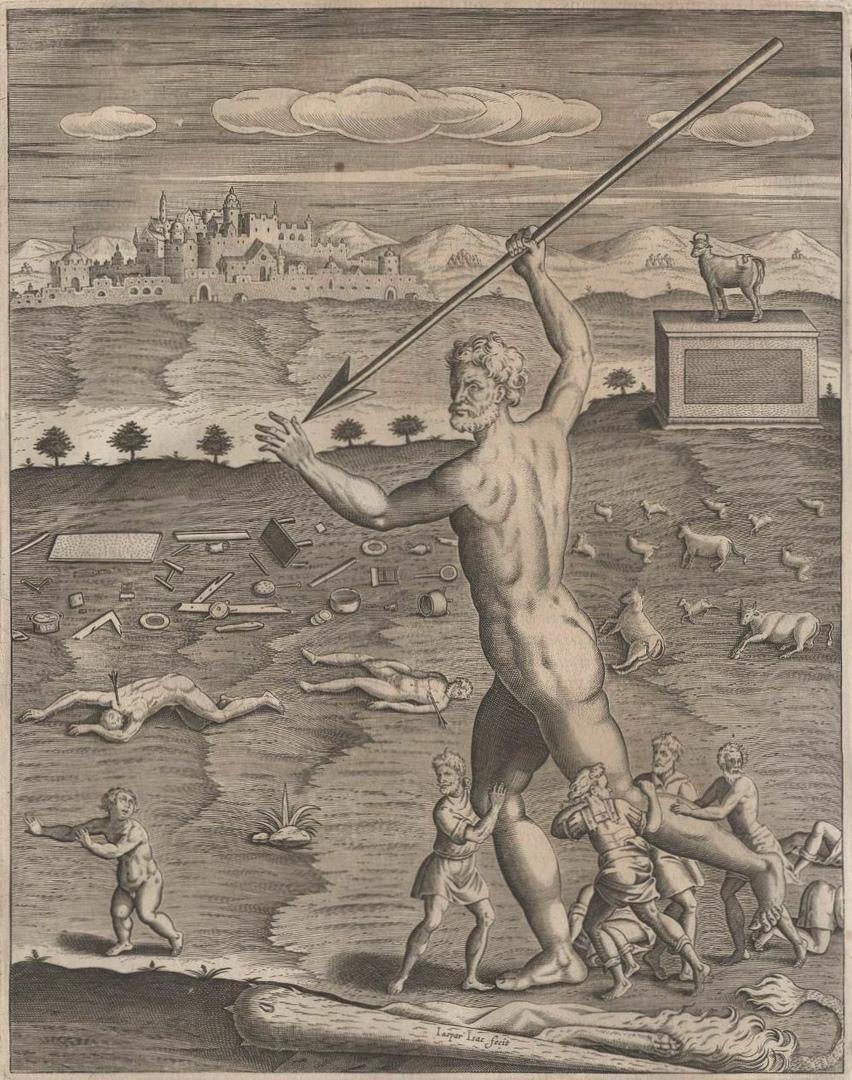 Злой Геркулес Антуана Карона. 17-го века.