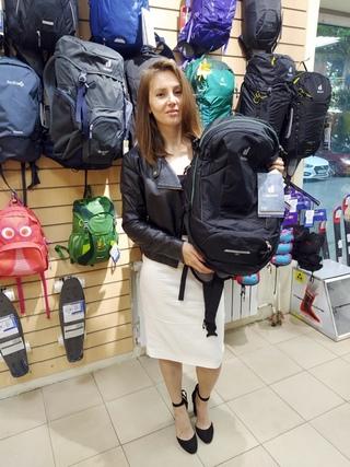 Победительница розыгрыша уже получила свой приз - рюкзак DEUTER 2020-21 TRANS ALPINE 30!
