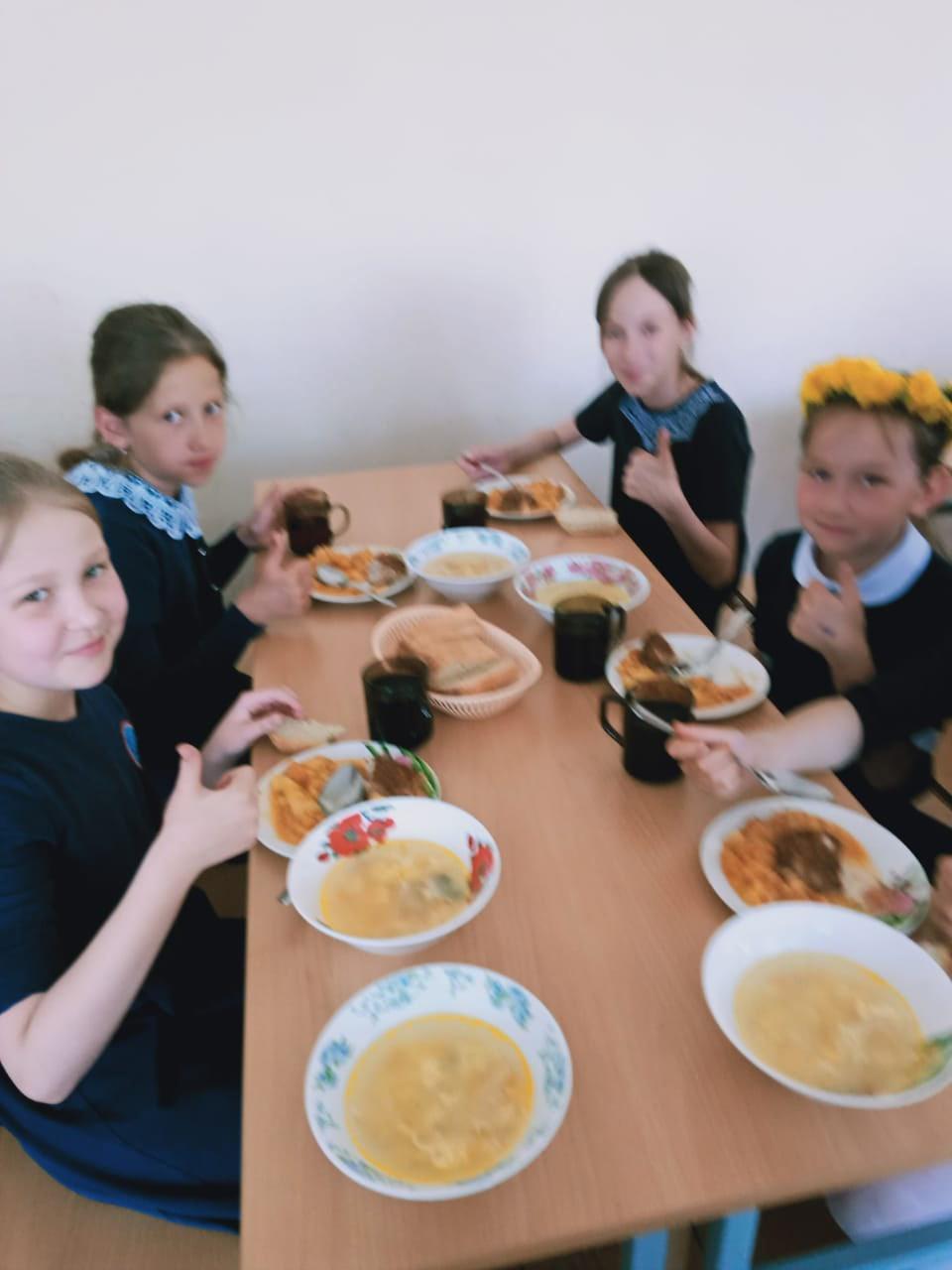 Хорошая организация школьного питания ведёт к улучшению