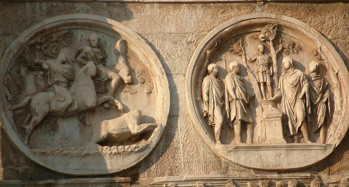 Рельеф с арки Константина