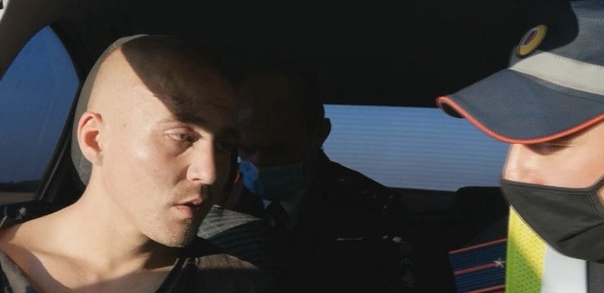 В райцентре Азово полицейские устроили погоню за пьяным 2...
