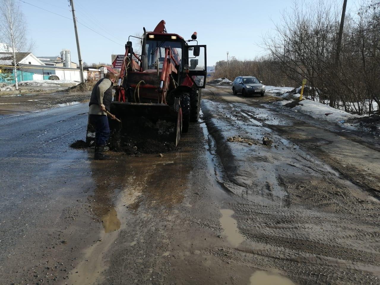 Работники МУП ЖКХ прокопали 224 метра водоотводных канав и прочистили 31 трубу ливневого стока улично-дорожной сети