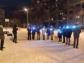 Митингуем на Васильевском