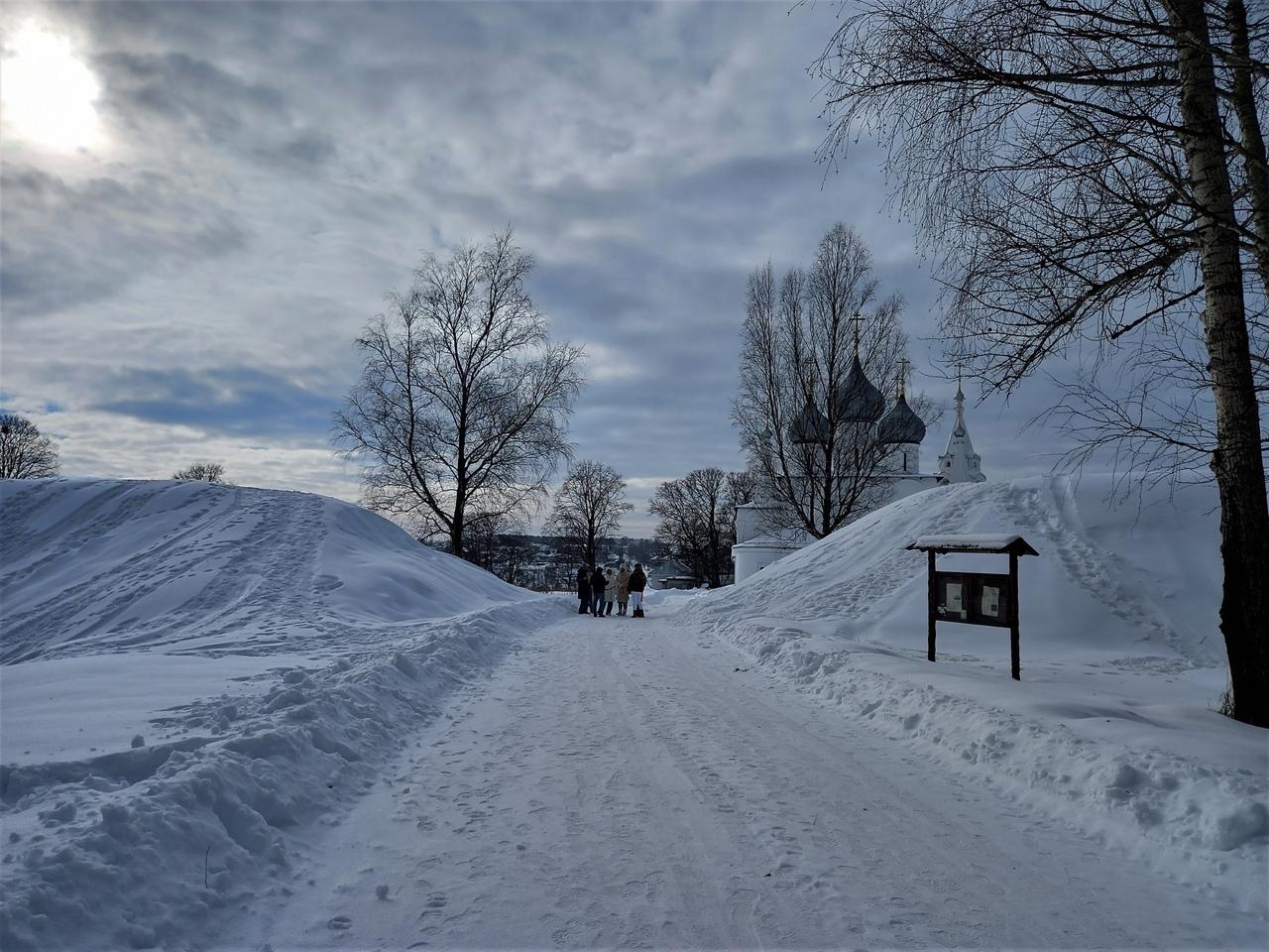 По Ярославской области. Древнее городище Романов