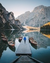 Озеро Брайс (север Италии)