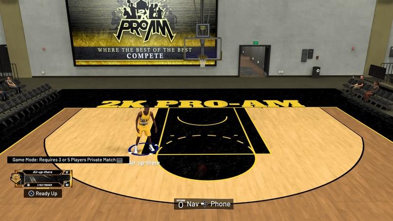 Как начать приватный матч в Pro-Am в NBA 2K21, изображение №3
