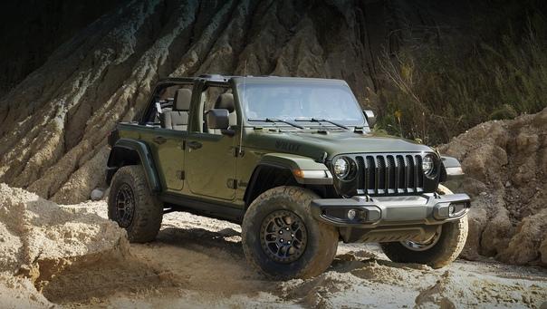 Jeep Wrangler Willys разжился пакетом Xtreme Recon...