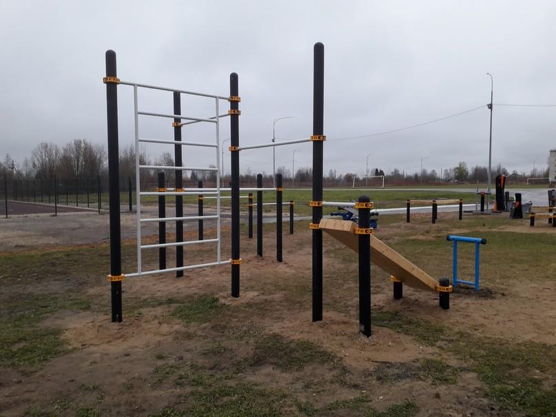 В посёлке Ярега появилась спортивная площадка, изображение №1