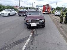 Авария была утром