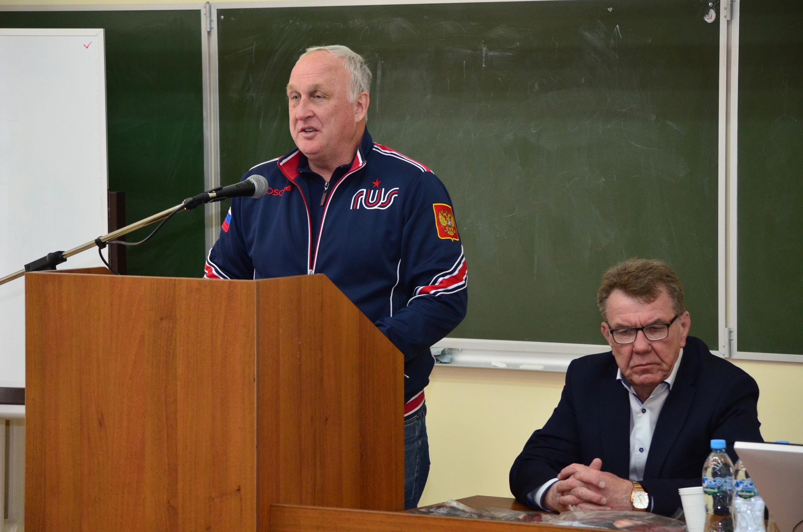 Семинар в Шуе. Выступление Бородавко Ю. В.