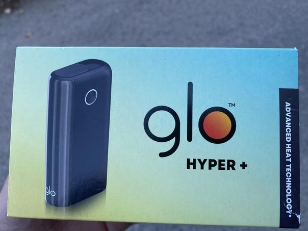 Glo hyper + новый , пользовался один день полный к...