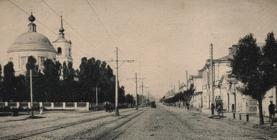 Московская улица фото начала ХХ века