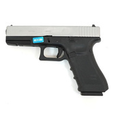 Модель пистолета WE Glock 17 Gen4 Gas Black/Silver
