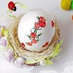 Пасхальные яйца в аппликациях и декоративной бумаге — МК и идеи