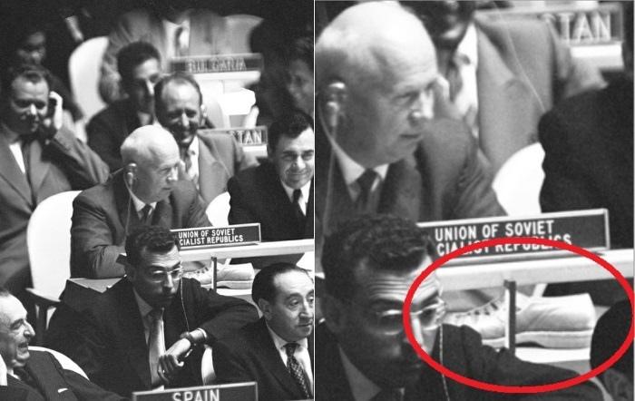 12 октября 1960 года на 15-й ассамблее ООН имел место курьёзный инцидент с Н.С....