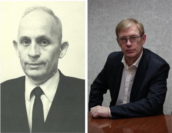 Портреты М.Р. Полесских и Г.Н. Белорыбкина.