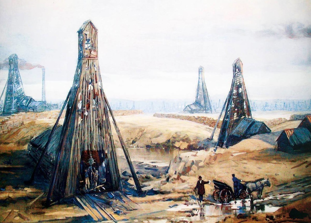 добыча нефти история