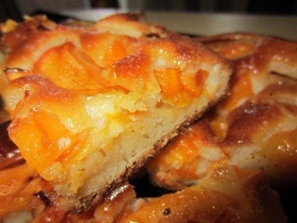 Абрикосовый пирог.