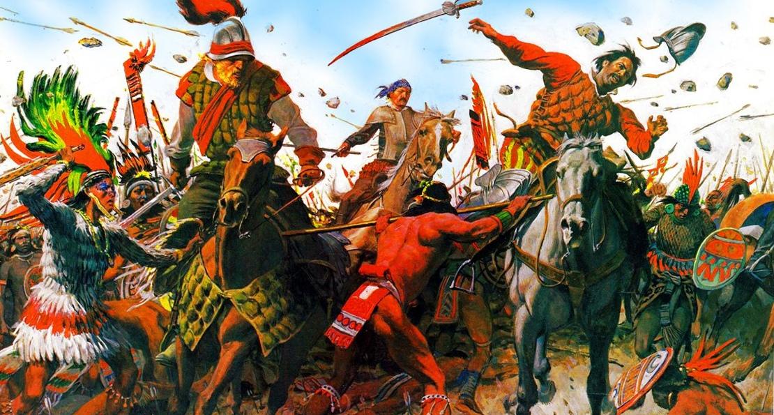 Бой ацтеков