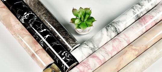 304.73руб. 44% СКИДКА|Современная мебель для гостиной, водонепроницаемая мраморная настенная бумага