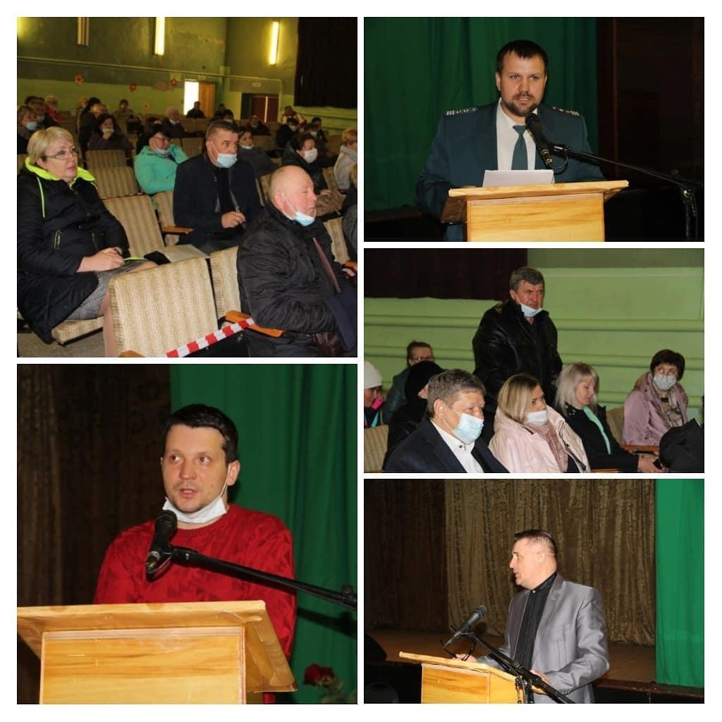Продолжаются выездные встречи руководства Петровского района с сельчанами
