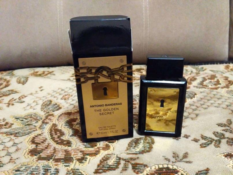 Antonio Banderas The Golden Secret (мужские) 100 ml. 1550 руб