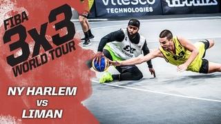 NY Harlem v Liman | Semi-Final | Full Game | FIBA 3x3 World Tour - Europe Masters 2020