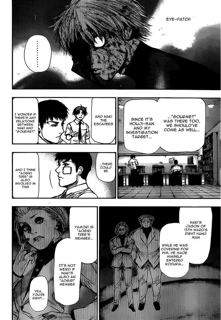 Tokyo Ghoul, Vol. 11 Chapter 109 Hanged Man, image #10