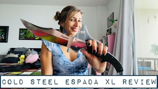 Cold Steel Knives Espada XL with Polished G10 and Aluminum Bolster and Frame Knife Review