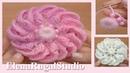 3D Лепестки в цветке крючком Урок 137 Подробный мастер класс