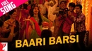 Baari Barsi | Band Baaja Baaraat | Ranveer Singh | Anushka Sharma | Harshdeep | Salim | Wedding Song