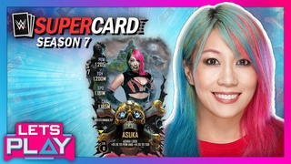 ASUKA gets ready for WrestleMania 37 with 2K SuperCard's WrestleMania Pack!