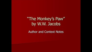 Short Story The Monkey's Paw by W.W. Jacobs Horror fiction AudioBook in English
